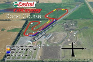 Road Course at Castrol Raceway, Edmonton