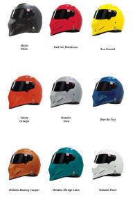 Simpson Helmet Color Options