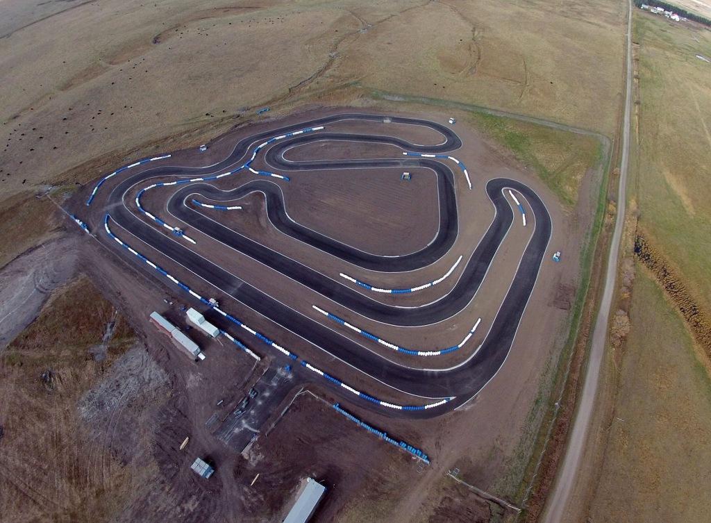 The new CKRC Kart Racing Track