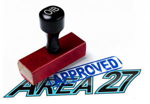 Area27 Race Track Approved
