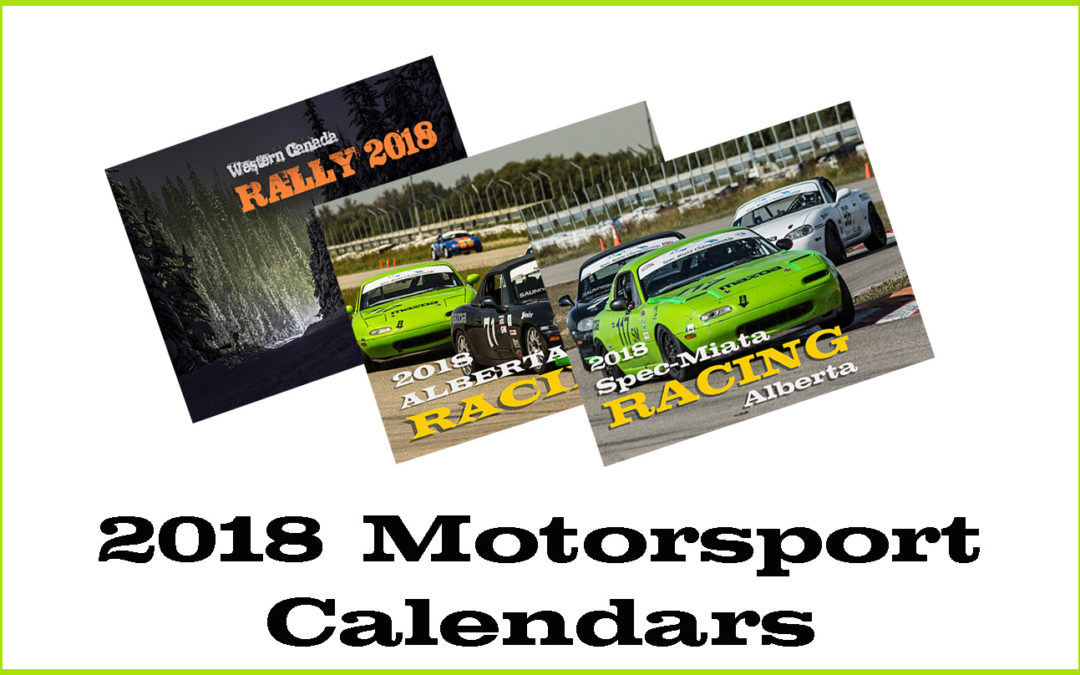 2018 Motorsport Calendars